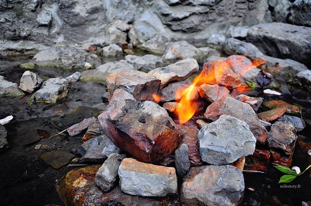fontaine ardente
