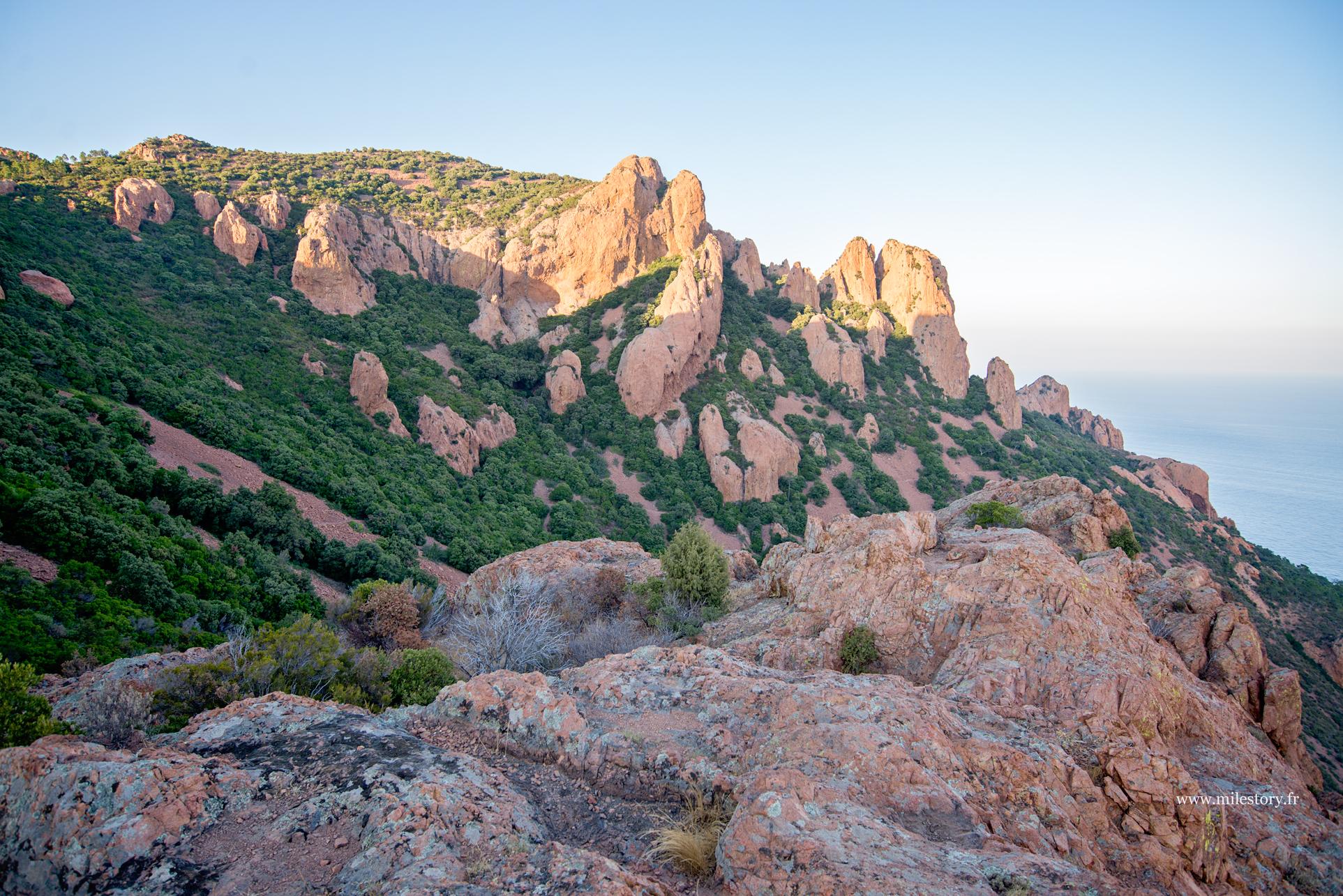 rocher de l'Estérel