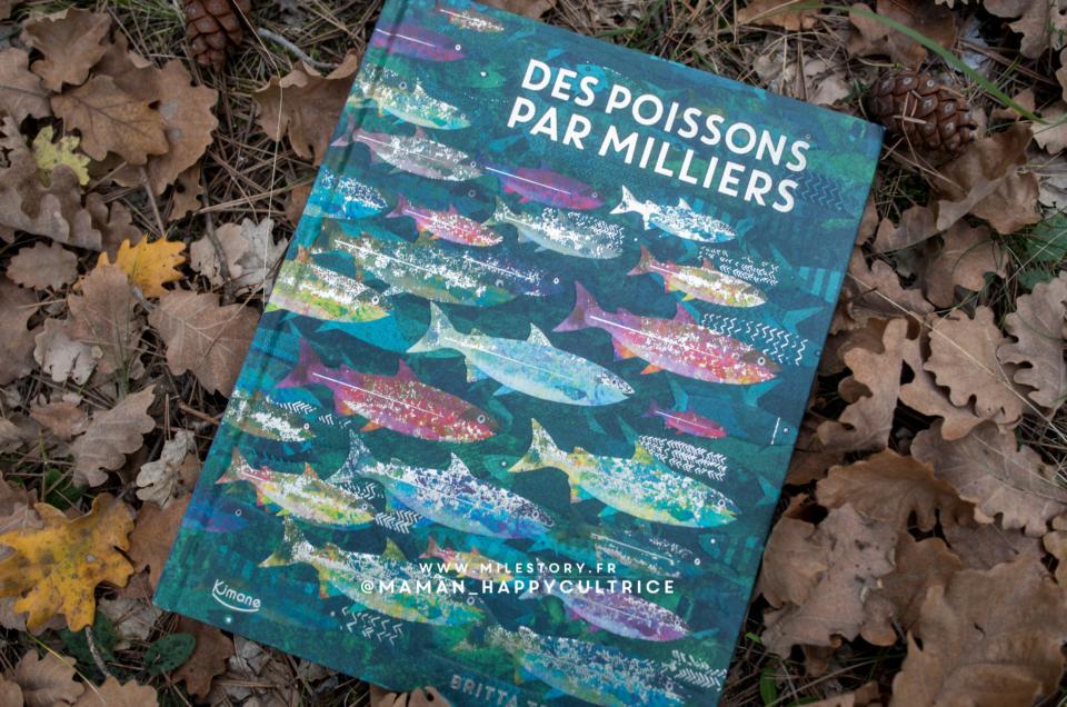 Des poissons par milliers de Britta Teckentrup – Kimane