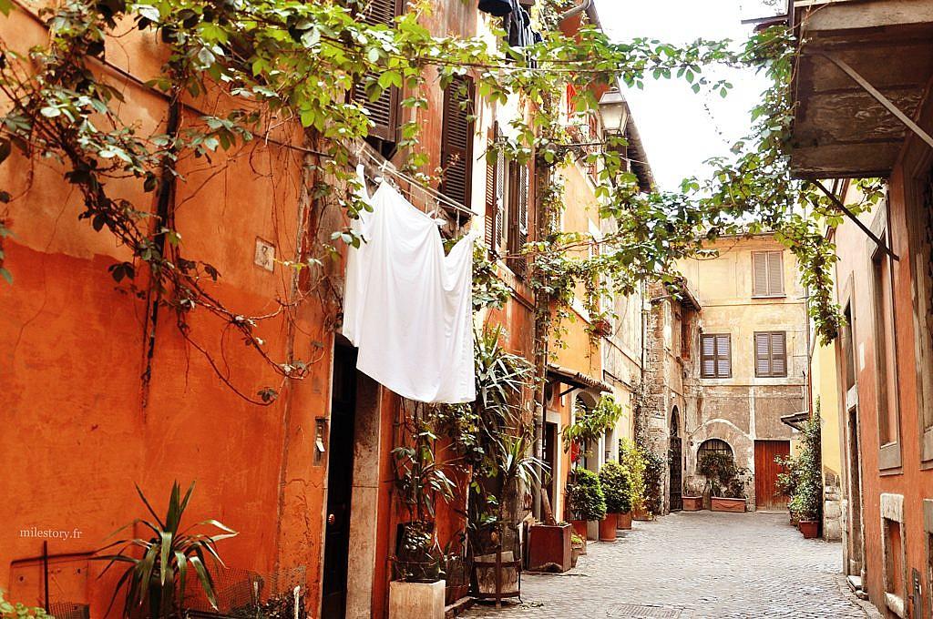 balade dans le quartier Trastevere