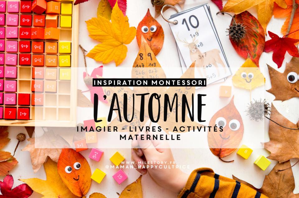Activités thème automne maternelle : livres, imagier, activités, coloriages, jeux …