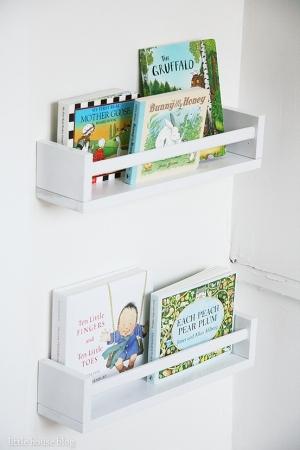 Porte Livre Mural Ikea