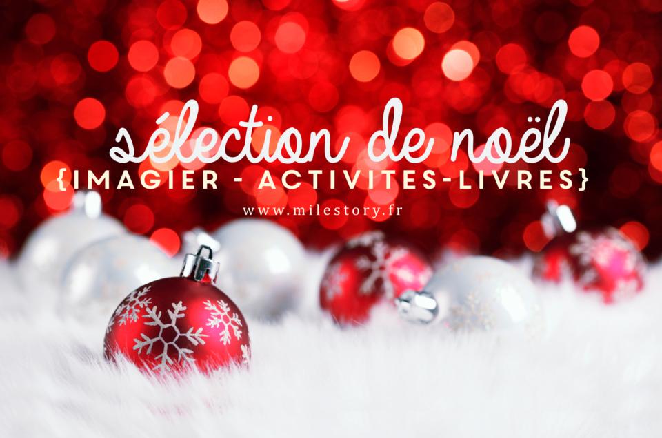 Imagier de Noël, ief de noël & sélection de livres