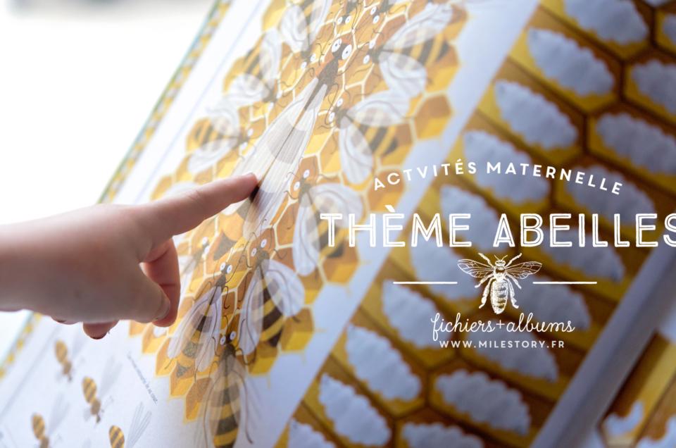 {IEF Maternelle – coschooling} Livres et activités sur les abeilles