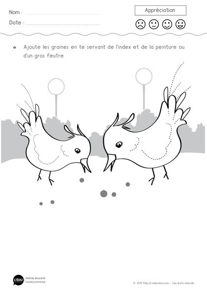 Activités Maternelle Oiseaux Cartes Nomenclature Oiseaux