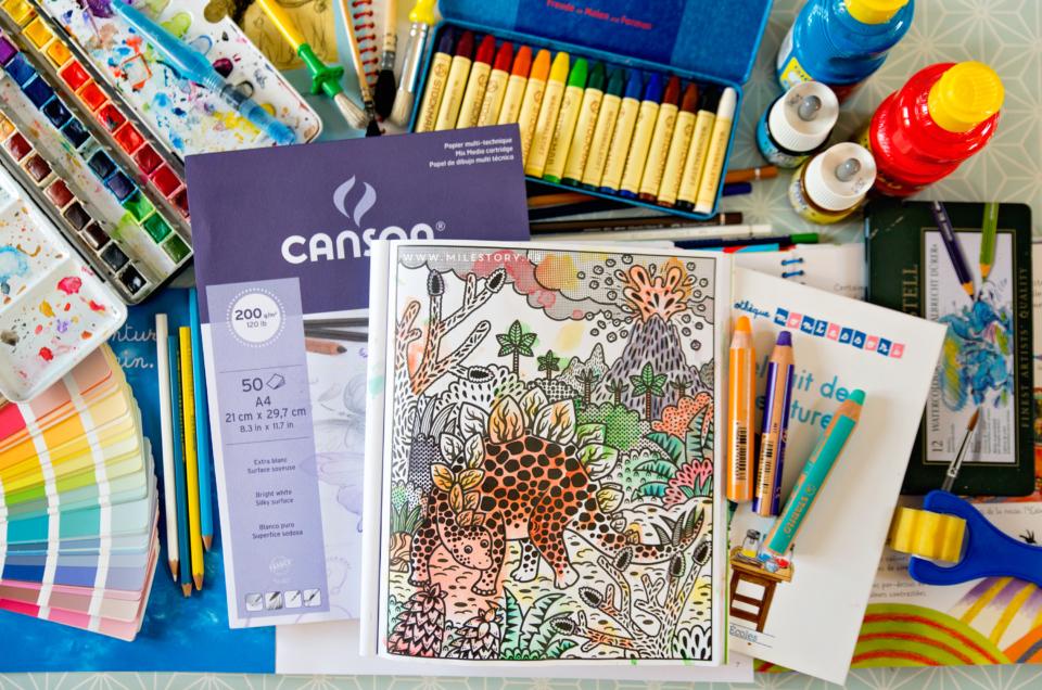 Matériel pour l'art et activités artistiques enfants