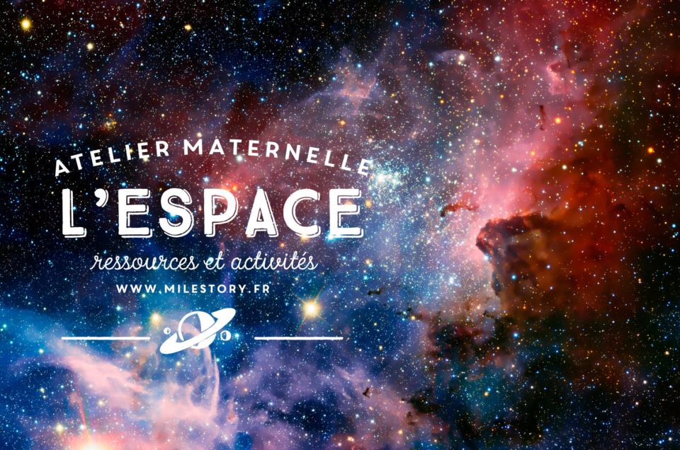 Ressources et activités sur l'espace pour les enfants