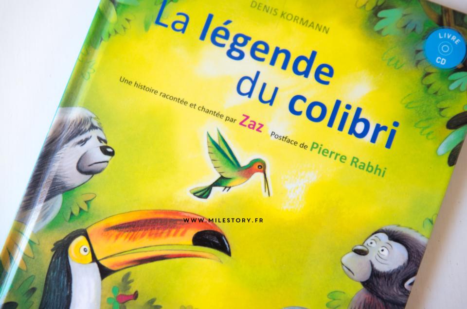 La légende du Colibri – Livre-cd