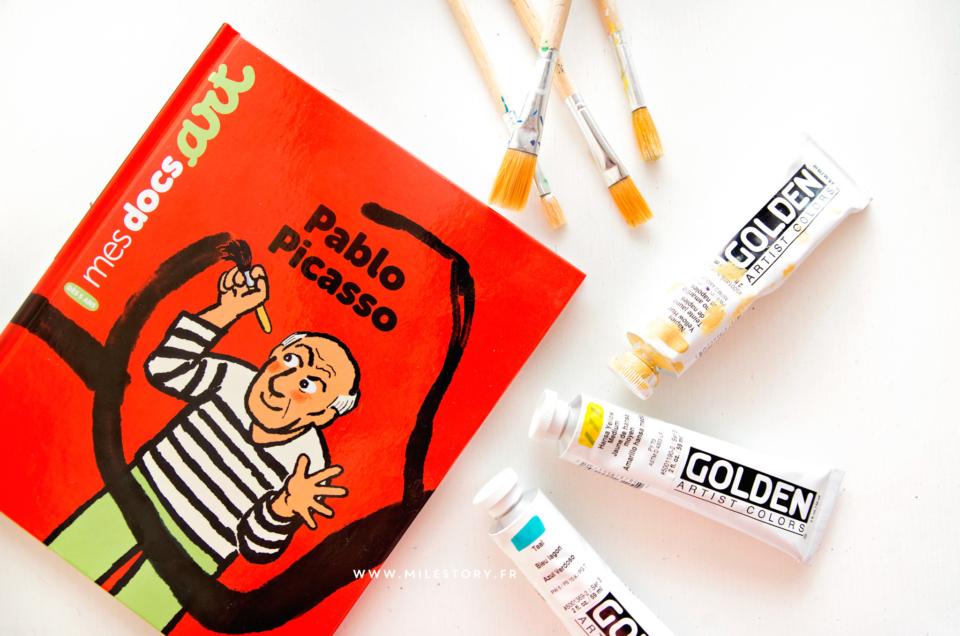 Livre – Mes docs Art Pablo Picasso