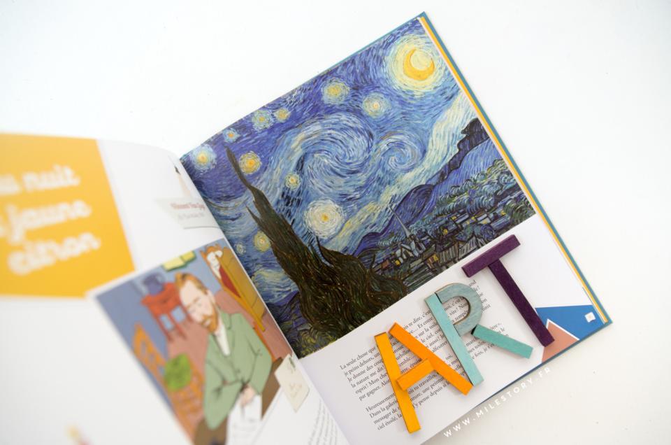 Un livre d'histoires pour raconter les plus grands tableaux aux enfants