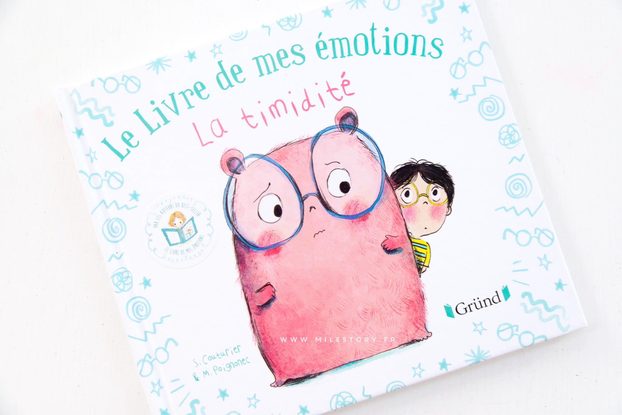 Le livre de mes émotions la timidité - Milestory 649fa7a1550