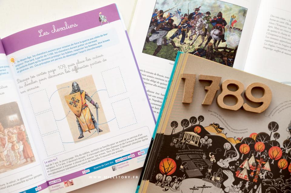 nouveauté cahier montessori Histoire du Monde et nos supports pour parler de l'Histoire