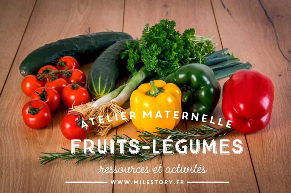 IEF DDM - Livres et activités sur les fruits et légumes de saison en maternelle