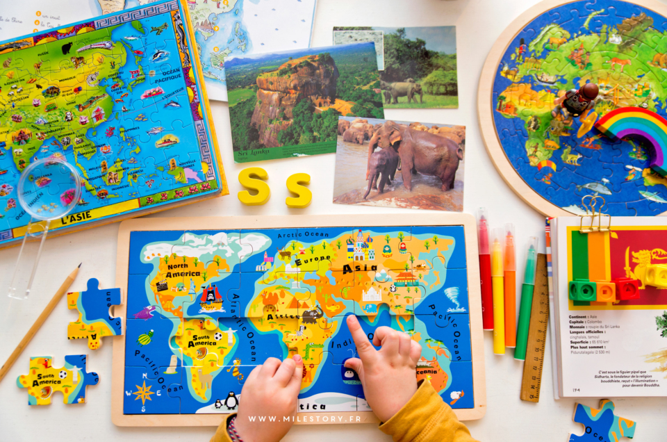 Puzzles de géographie pour apprendre en s'amusant !