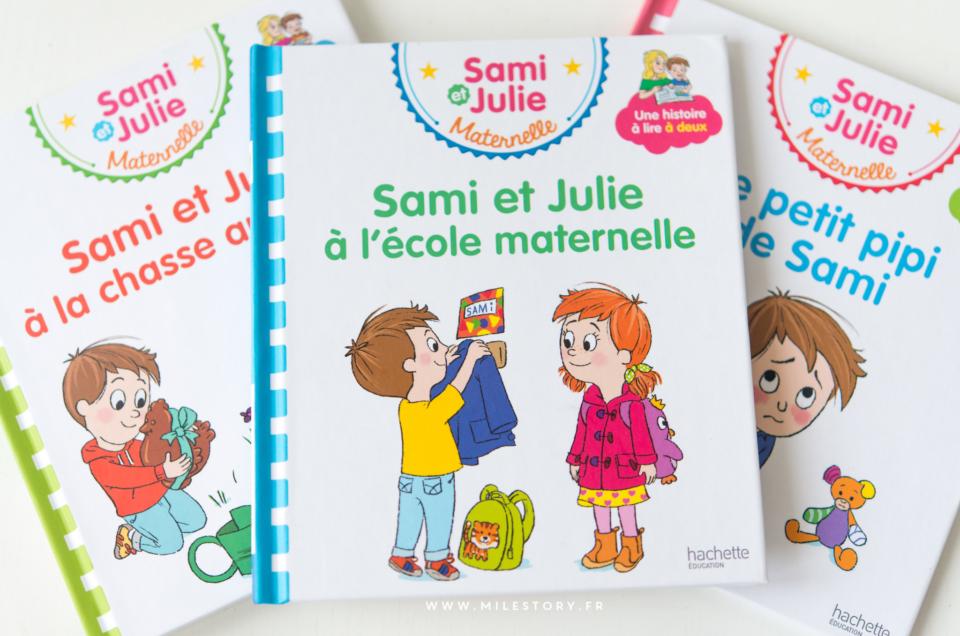 Apprendre à lire : livres de lecture à deux voix avec Sami et Julie pour les maternelles