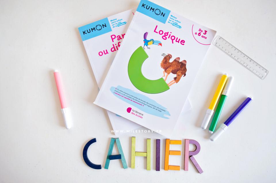 Nouveautés La librairie des écoles : cahiers Kumon Logique et Pareil ou différent ?