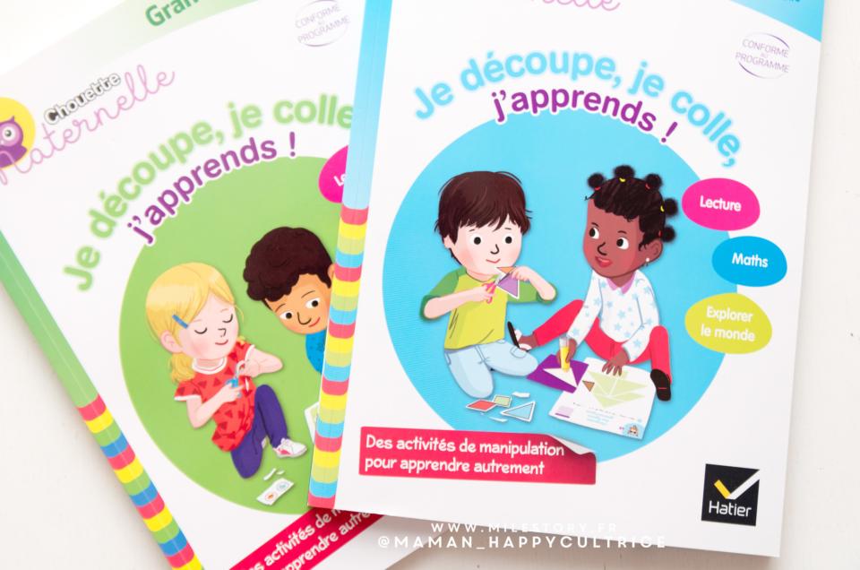 cahiers d'activités maternelle découpe colle