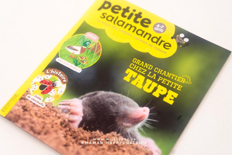 quel magazine choisir pour son enfant ? La petite salamandre + code promo