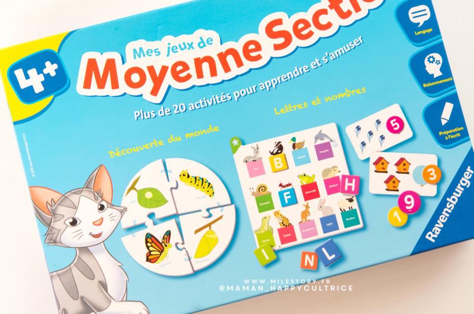 UNBOXING : Mes jeux de moyenne section de maternelle