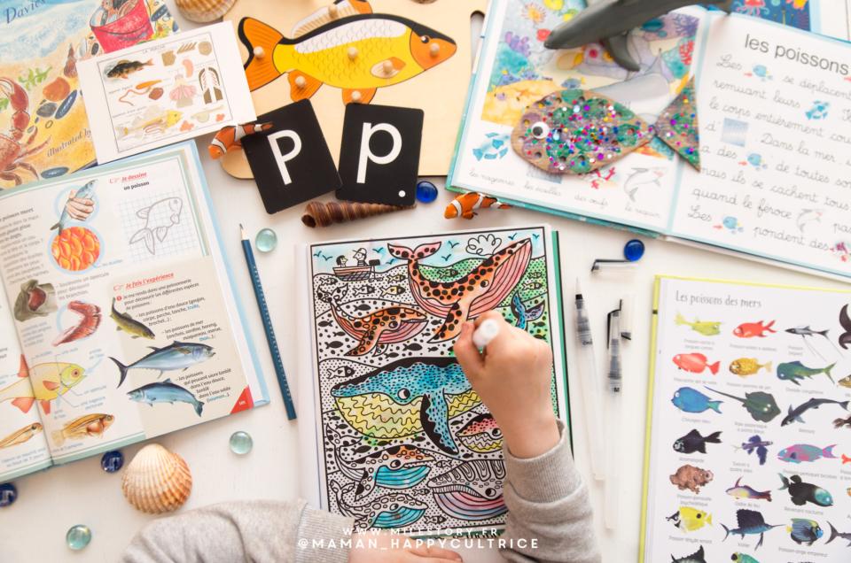 Activités thème poisson et mer en maternelle