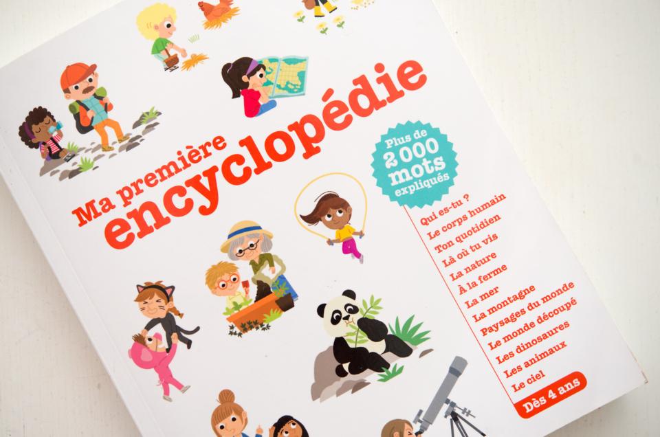 Ma Première Encyclopédie – pour les enfants dès la maternelle