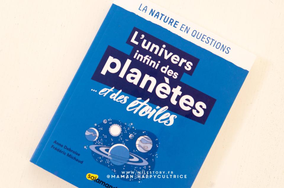 Livre L'univers infini des planètes et des étoiles en questions !
