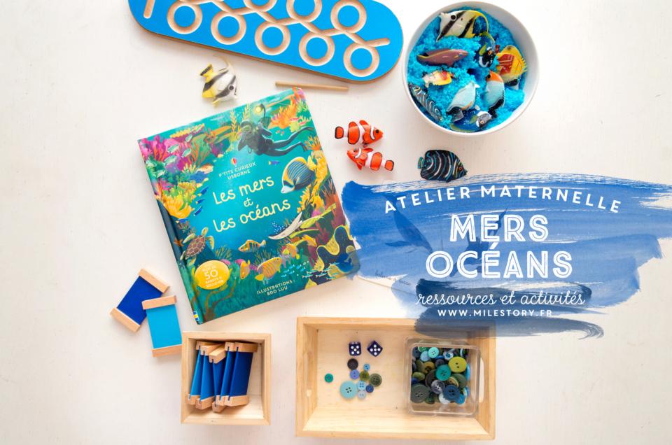 Activités Océans, Mer, plage et coquillages – maternelle