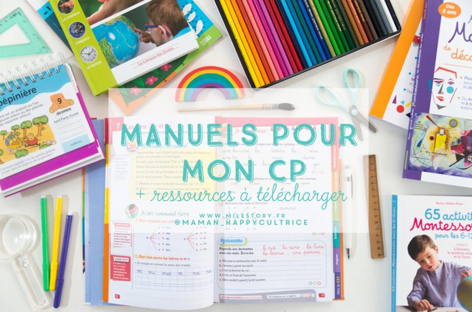 ief / coschooling : les manuels pour mon CP