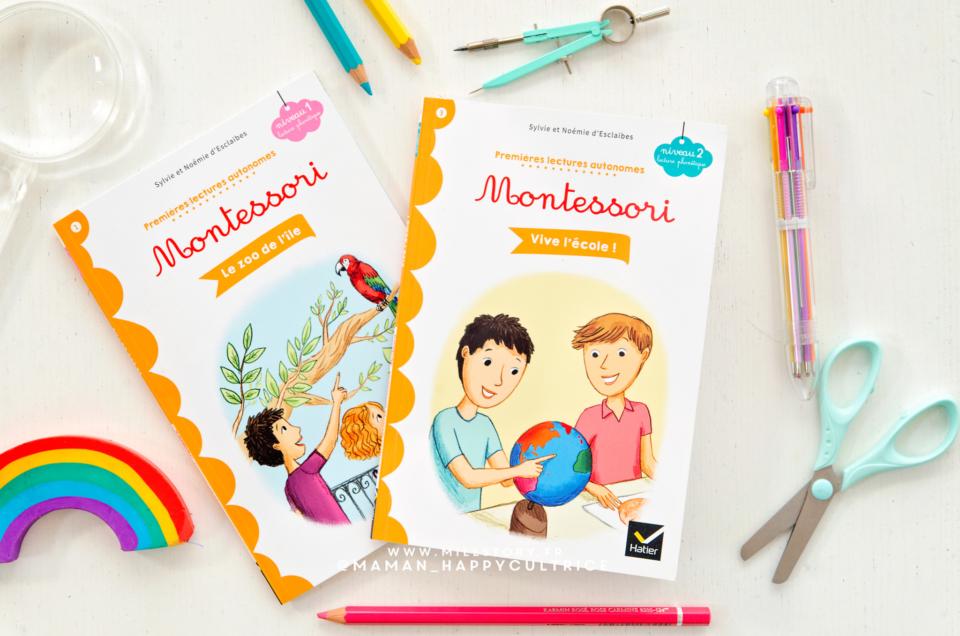 Premières lectures autonomes Montessori de Sylvie et Noémie d'Esclaibes – Hatier