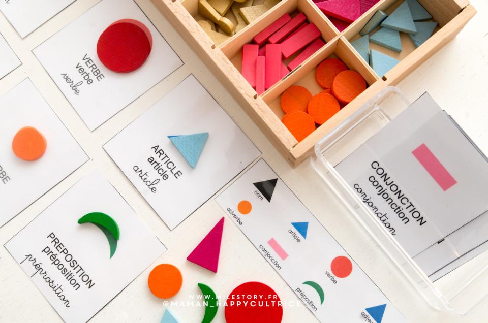 Découvrir la grammaire avec Montessori