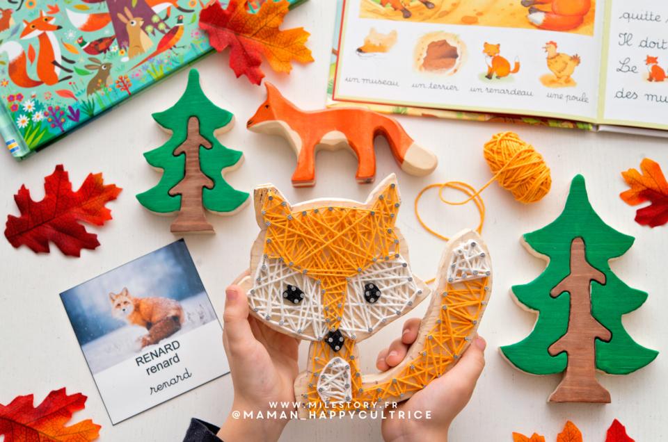 Activités animaux de la forêt / ief, coschooling, maternelle