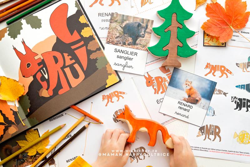 Activites Animaux De La Foret Ief Coschooling Maternelle