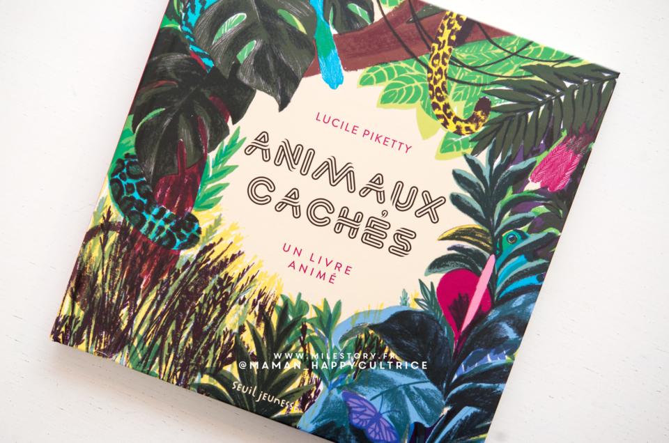 Un livre animé pour découvrir des animaux à protéger