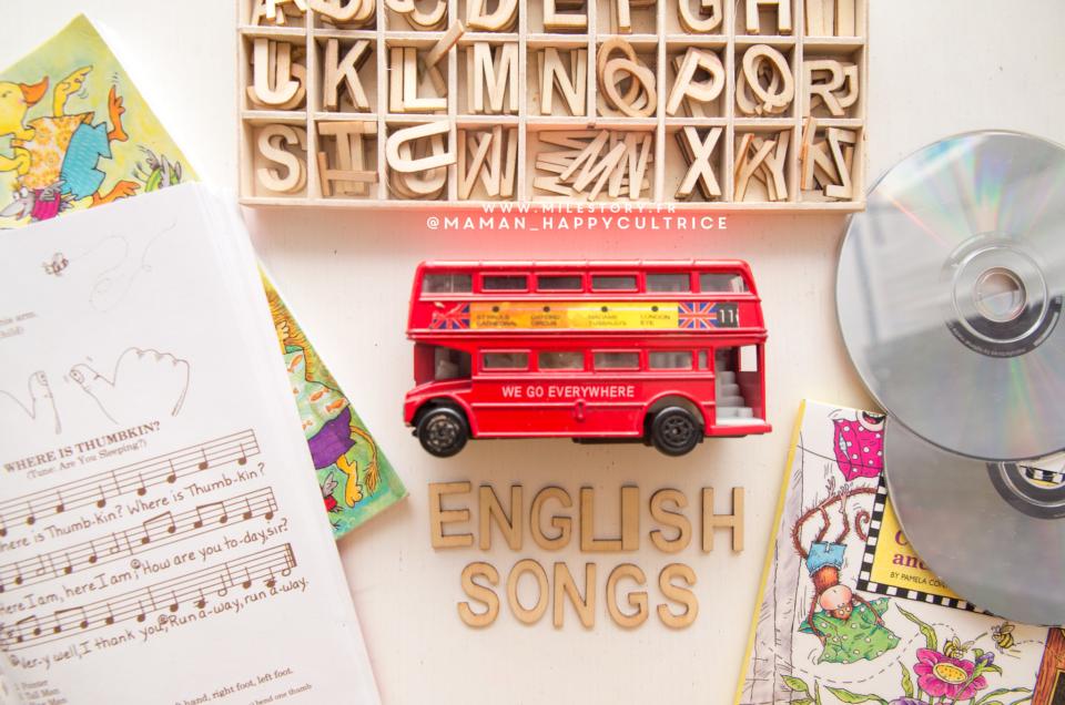 Musiques et Chansons comptines pour apprendre l'anglais aux tout petits