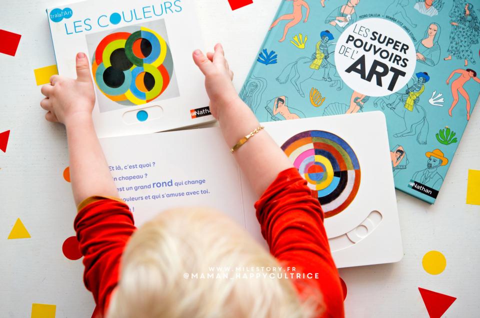 Livres pour faire découvrir l'Art aux bébés et aux enfants !