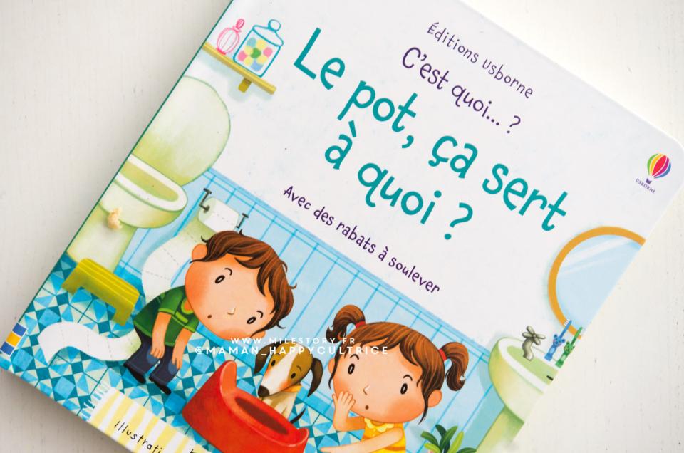 Le pot, ça sert à quoi ? – Vers l'apprentissage de la propreté