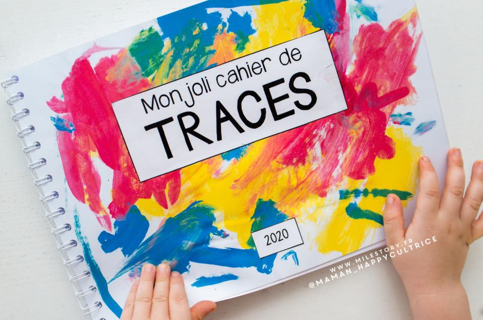 DIY – Livre de traces + support à imprimer