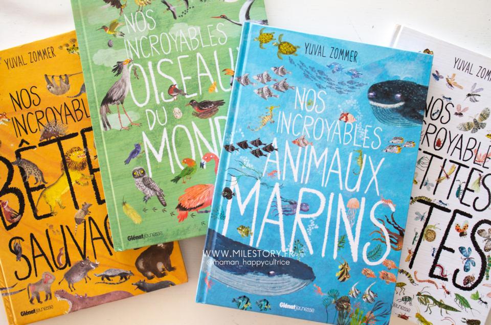 Livres illustrés sur les animaux