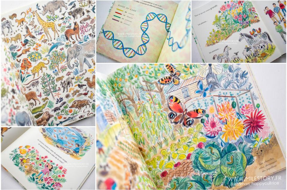 Un livre enfant sur l'ADN et la génétique