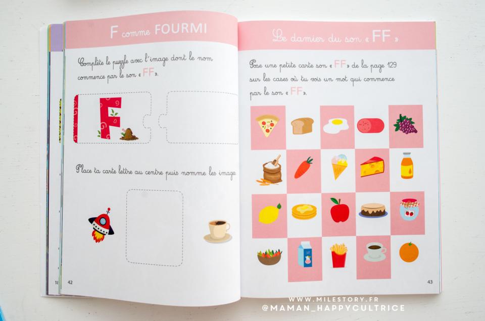 Le grand cahier Montessori des tout-petits , préparation à la lecture
