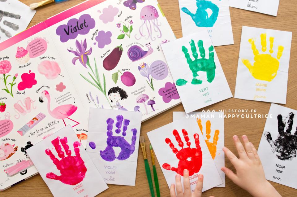 DIY imagier des couleurs à imprimer pour apprendre les couleurs