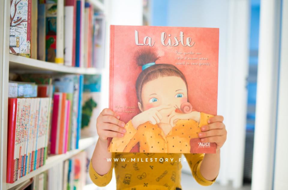 La liste : un livre pour profiter de la vie et garder son âme d'enfant