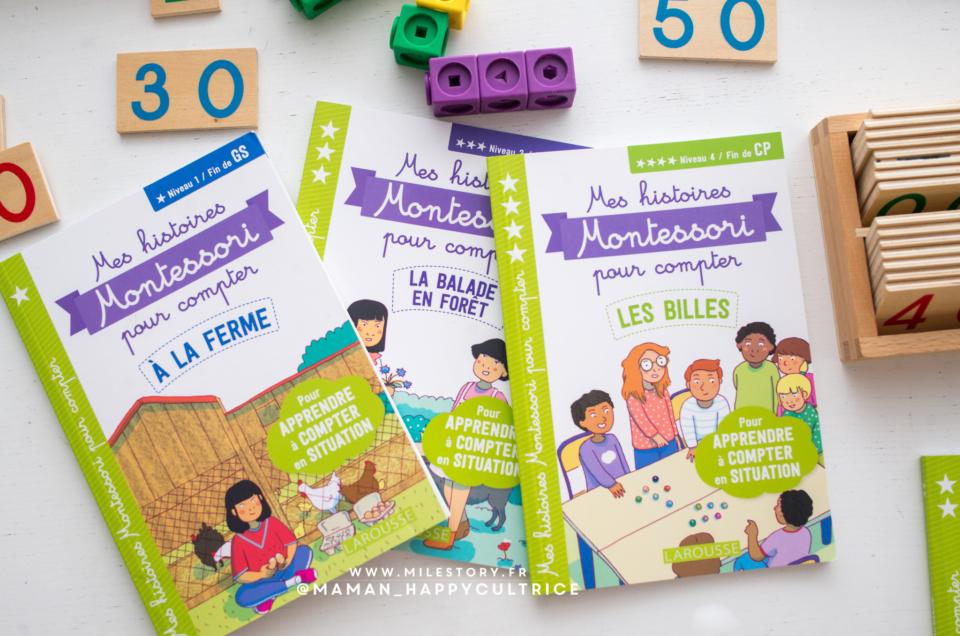 Mes histoires Montessori pour compter – gs cp