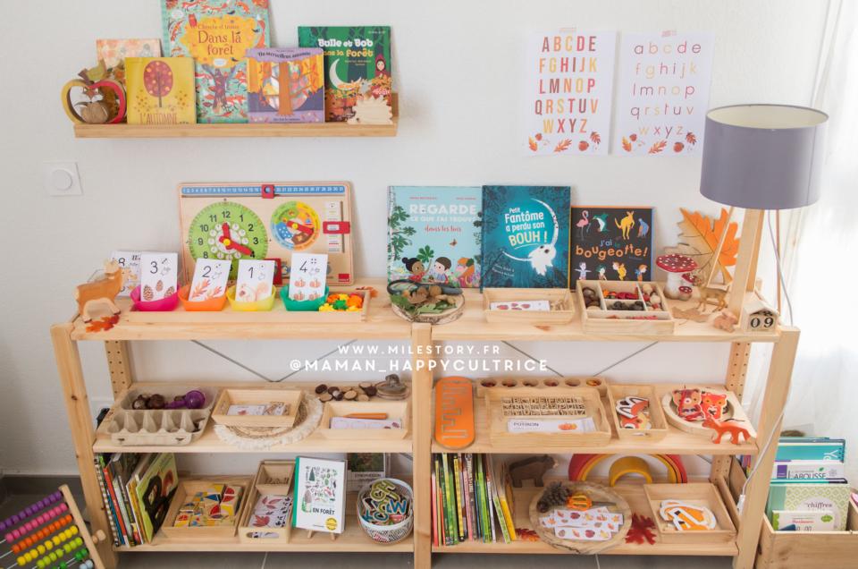 Activités autonomes thème automne d'inspiration Montessori – maternelle