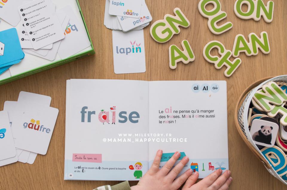 Apprendre à lire : Je joue et j'apprends les mots avec des sons complexes – Coffret jeux – Dès 5 ans