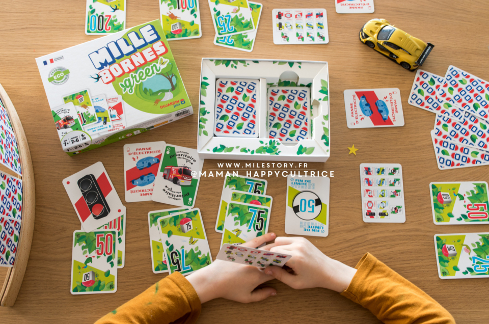 Idée cadeau : jeu mille Bornes Green