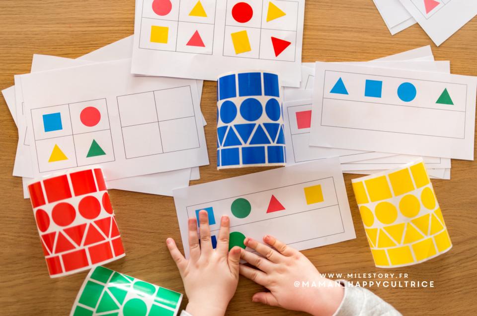 Maternelle : Activités pour apprendre les formes géométriques