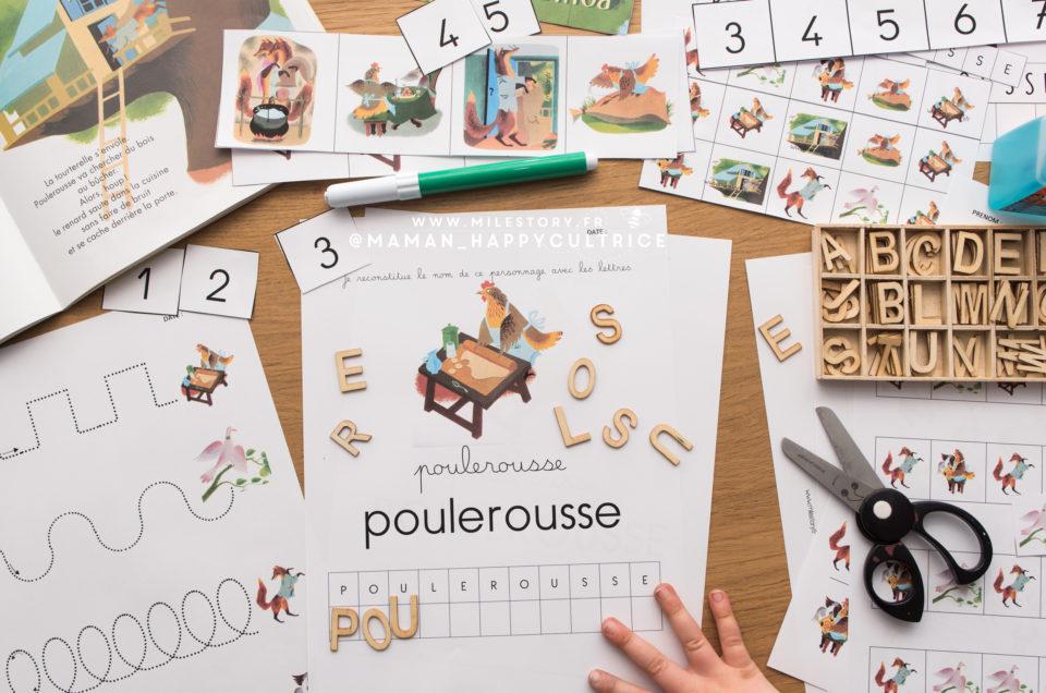 Exploitation Album Poule Rousse Père Castor Maternelle (fiches pdf à imprimer)