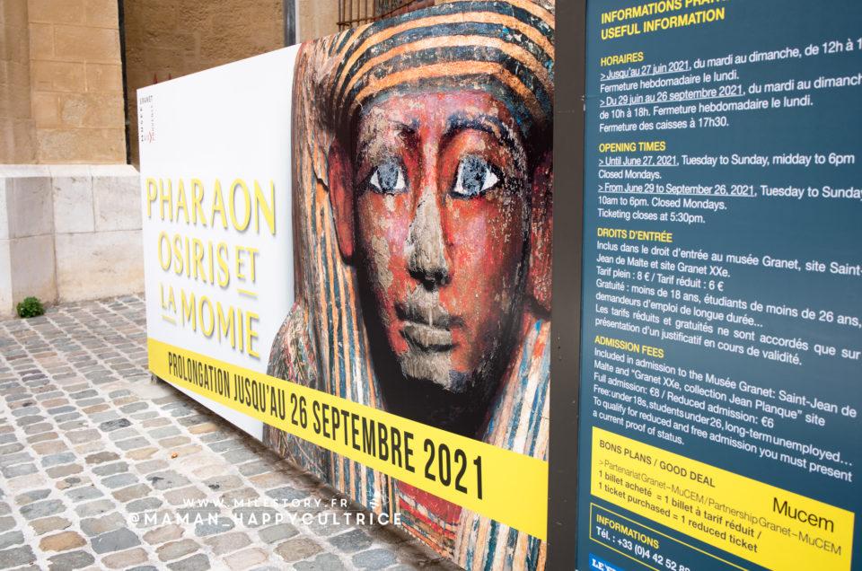 Pharaons, Osiris et la momie – Aix en Provence