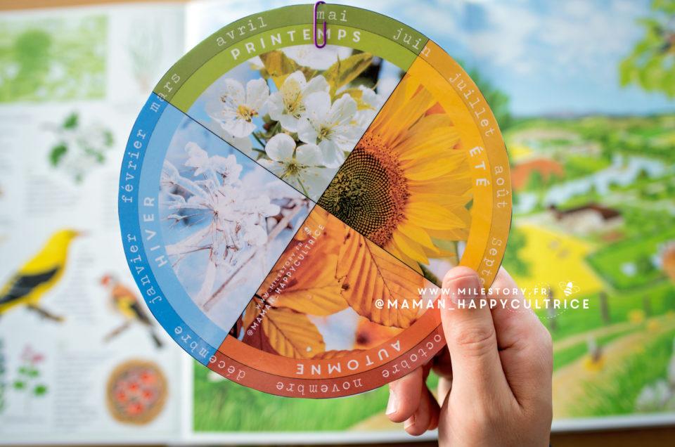 Roue des saisons à imprimer / maternelle – cp